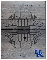 Kentucky Basketball Seating Chart