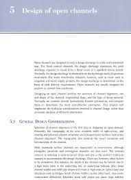 Open Channel Design Open Channel Hydraulics Design Of Open Channels