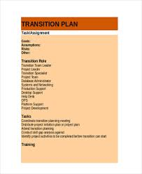 transition plan examples 10 transition plan examples samples
