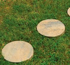 stepping stone round tuscan pavestone