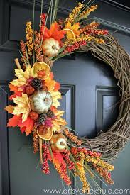 images of fall wreaths