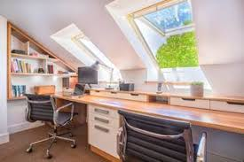 attic home office. Home Office Attic Conversion E