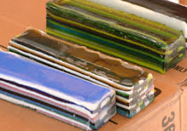 Pattern Bar Simple Clearwater Glass Studio
