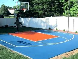 outdoor basketball court backyard paint philippines used tiles best