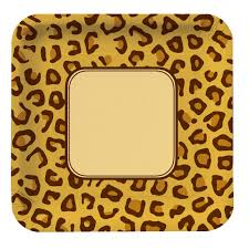 Leopard Print Party Decorations Leopard Print Birthday Party Supplies Party Supplies