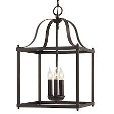 cottage pendant lighting. Allen + Roth Danbury 12.05-in Specialty Bronze Country Cottage Single Cage Pendant Lighting T