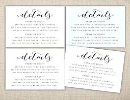 Hotel Accommodations Cards Insert Cards For Wedding Invitations Wording Best Accommodations