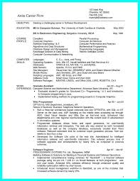 computer science resume sample student unforgettable web developer  science