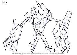 Learn How To Draw Necrozma From Pokemon Sun And Moon Pokémon Sun