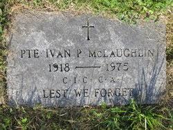 Ivan P. McLaughlin (1918-1975) - Find A Grave Memorial