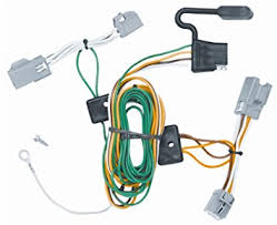 amazon com vehicle to trailer wiring harness connector for 08 09 vehicle to trailer wiring harness connector for 08 09 ford taurus x plug play