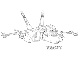 Disney Planes Bravo Coloring Pages Get Coloring Pages