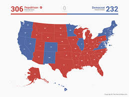 Vector Free States Votes Of Maps Electoral Map United