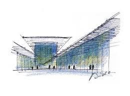 modern architectural sketches. Tadao Ando Sketches   Sketch Courtesy Architect \u0026 Associates Modern Architectural D