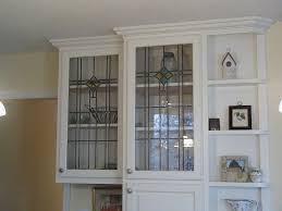 white glass inserts for kitchen cabinets