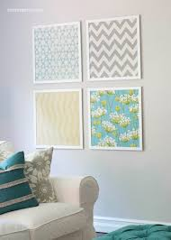 Small Picture DIY Fabric Wall Art Ideas and Inspirations