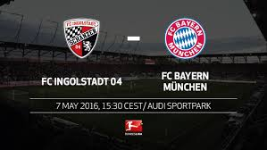 Ingolstadt were confirmed on saturday as the second club automatically relegated. Bundesliga Bundesliga Matchday 33 Fc Ingolstadt 04 Fc Bayern Munchen Preview