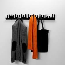 Wave Coat Rack Enchanting Wallmounted Coat Rack Contemporary Metal WAVE By Nanni Holén
