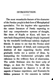 the development of metaphysics in persia by shaikh muhammad iqbal pg vii