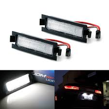 Hyundai Elantra License Plate Light Replacement Oem Fit 3w Full Led License Plate Light Kit For 2012 17 Hyundai Accent 13 17 Elantra Gt Hatchback Powered By 18 Smd Xenon White Led