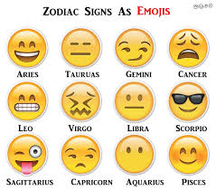 Geek Zodiac Chart Which Emoji Matches My Zodiac Sign Popsugar Australia Tech