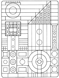 geometric coloring pages for kids. Plain Pages Geometric Coloring Pages Kids Free Printable For  Intended For E