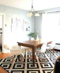 rug under dining room table on carpet trend of rug under dining room table design in carpet