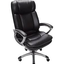 leather office. serta executive big and tall puresoft faux leather office chair smooth black o