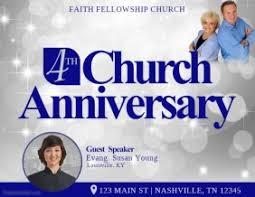 Customize 3 410 Church Flyer Templates Postermywall