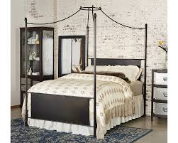Manor Iron Canopy King Bed - Magnolia Home