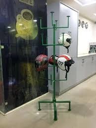 Motorcycle Helmet Display Stand Stunning Helmet Display Image 32 Motorcycle Helmet Display Rack Helmet Display