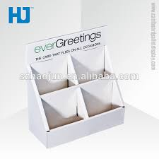 Greeting Card Display Stands Cardboard Inspiration Greeting Card Display HolderCardboard Counter Display Boxes