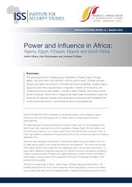 power and influence in africa ia and  power and influence in africa ia and south africa