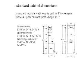 standard kitchen cabinet dimensionspdf depth