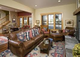 traditional leather living room furniture. Blue Leather Couch Living Room Furniture Light Brown Traditional With Area Rug
