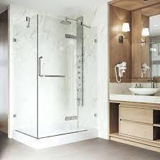 frameless shower shower door enclosures frameless glass shower door cost estimate