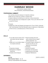 Past Employer Name Job Title Resume Sample Waterford Michigan