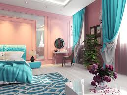 the pink that we see on the wall is the same color that we would see in the 1950 s era it is a very vintage color along with the blue on the