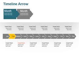 Timeline Powerpoint Slide Timeline Arrow