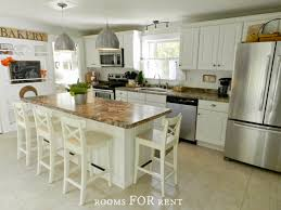 white country cottage kitchen. White, Classic Kitchen With A Touch Of Cottage Style White Country