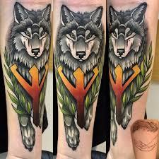 языческие татуировки Pagan Tattoos лисы тату татуировки и
