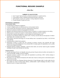 8 Summary Of Qualifications Resume Examples Ledger Page