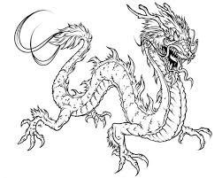 Small Picture Chinese Dragon Coloring Pages 91488 Animals Kids Pedia