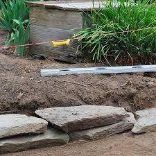 building flagstone wall