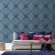 graham  brown wallpaper  cote couture teal   – wonderwall