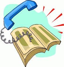 Phone Book Clipart