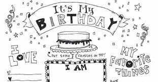 Happy birthday coloring pages 119. Happy Birthday Coloring Page Skip To My Lou