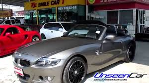 BMW Convertible bmw z4 08 : รถมือสอง BMW Z4 E85/E86 (ปี02-08) 2.5i [Coupe] - YouTube