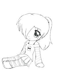 Anime Coloring Pictures Cute Girl Coloring Pages Anime Color Cute