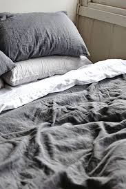 small size of full image for amazing dark grey linen duvet cover 4 charcoal grey linen